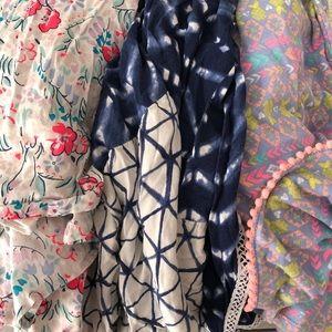 Lot of girls 7/8 medium summer maxi dresses